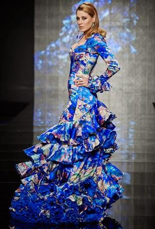 traje flamenca 2015 Lina