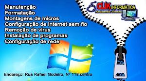 CLIK INFORMÁTICA - Fone: (84)-9667-0144