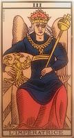 La Emperatriz-Tarot de Marsella