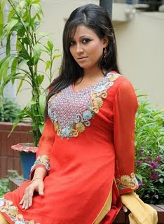model & actress nafiza jahan