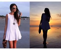 vestido branco para passar o ano novo na praia - dicas e fotos