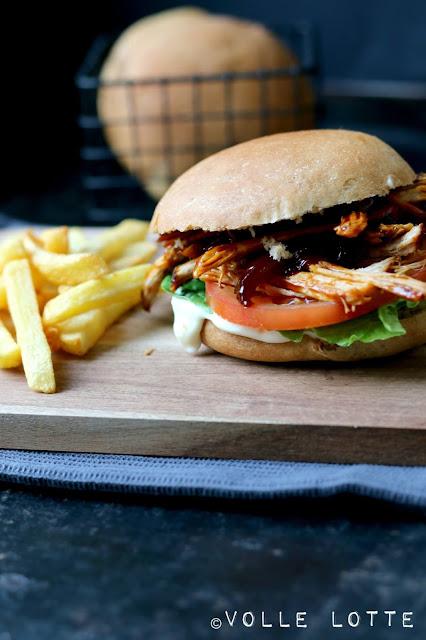 Sommer, Hipstersandwich, Burger, Uns, Picknick, Gartenfest