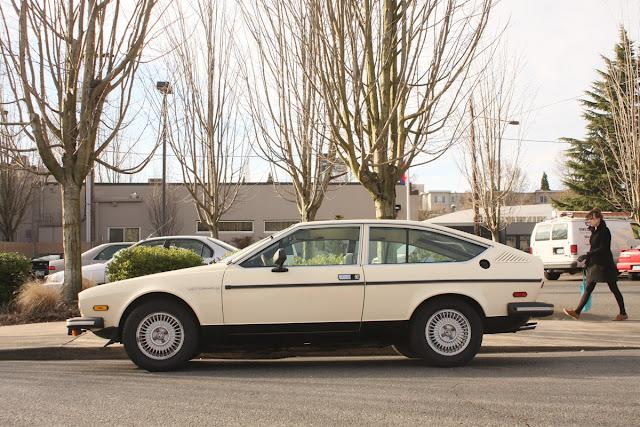 1978 Alfa Romeo Alfetta GT.