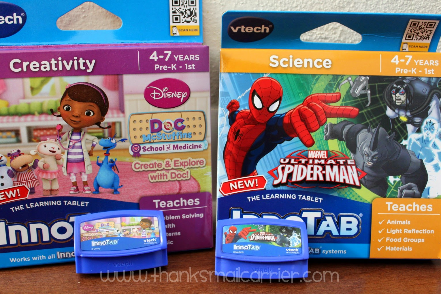 new VTech Innotab cartridges