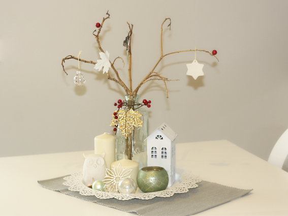Lluvia de ideas nuestros centros de mesas de navidad - Centros para mesa de comedor ...