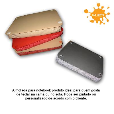 almofada notebook