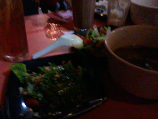 juara sup herba best, sup herba berasap, kailan ikan masin.