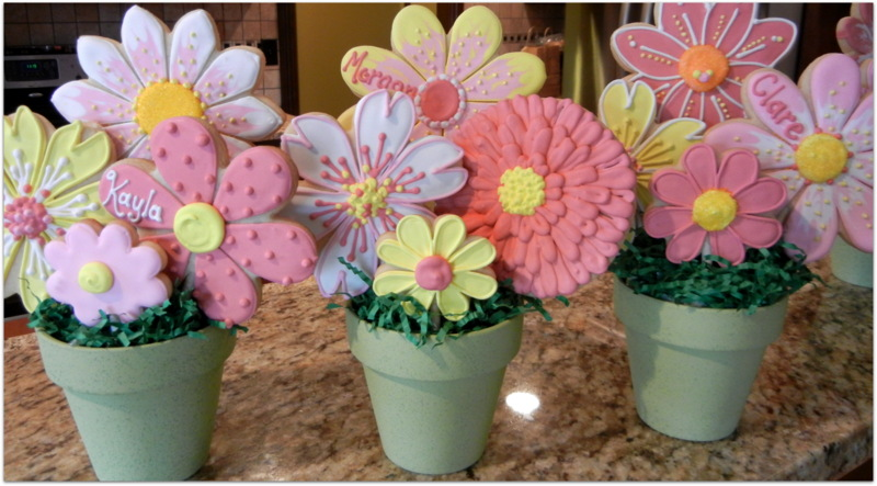Cara Bella Cookies : Personalized Bouquets