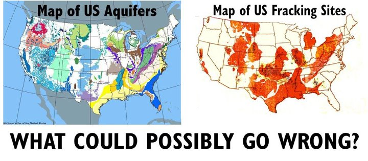 Fracking Wells State Map MAPS Underground Tunnels Unexplained - Fracking us map