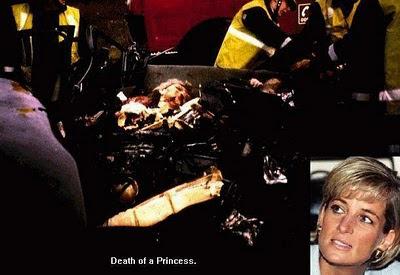 Foto Kecelakaan Lady Diana