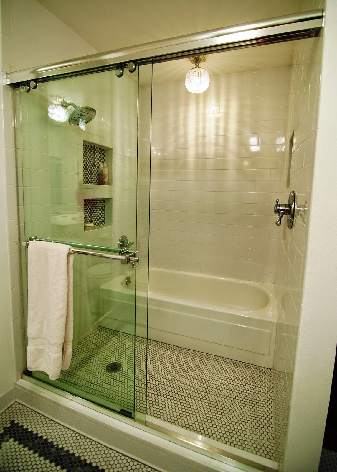 north dallas real estate: lydia's north dallas bathroom remodel