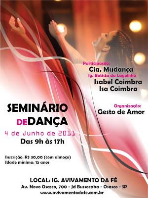 Seminario de Dança com Isabel Coimbra e Cia Mudança