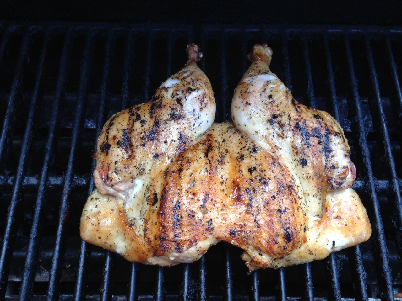 Healing Celiac: Tuscan Grilled Chicken Under a Brick (and ...