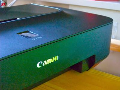 Принтер Canon без дисплея на корпусе