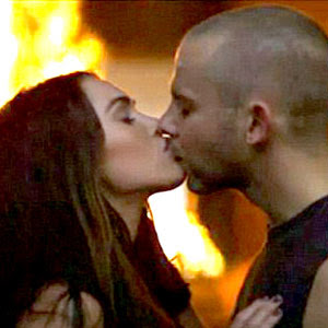 Megan Fox Kissing Photo Gallery