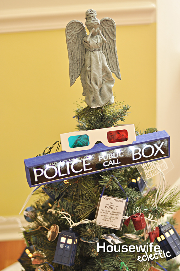Doctor Who Christmas Tree - Housewife Eclectic