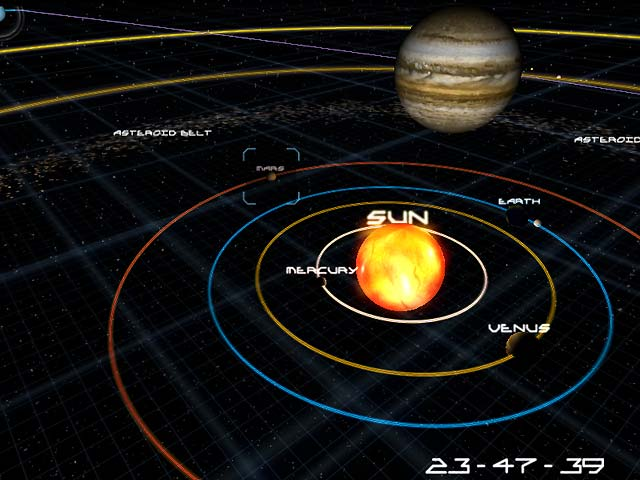 solar system and gravity Students will interactively examine how the theory of gravity and planetary motion govern the solar system students will: understand that the force that causes an apple to fall to the ground is the same force that holds the moon in its orbit.