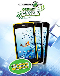 SM Cyberzone Cosplay Craze Kata Phone Giveaway