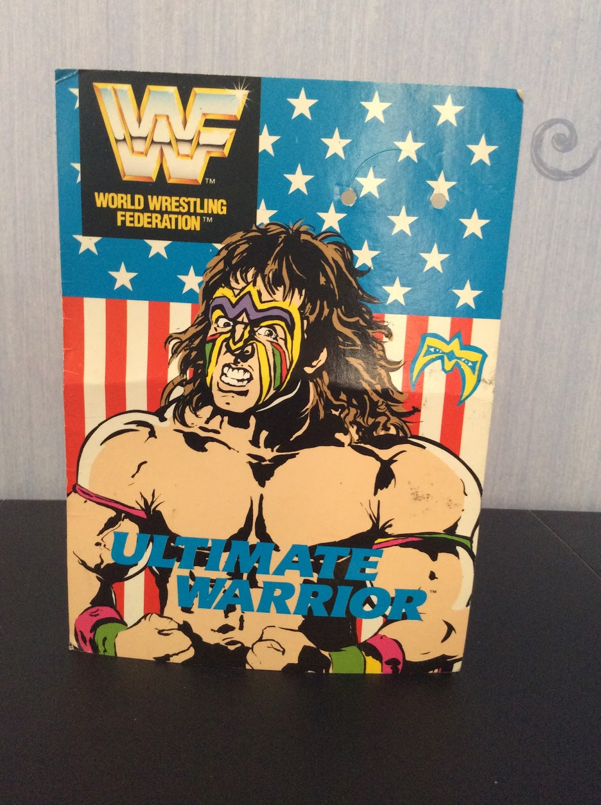 equinoxx ultimate warrior birthday card, Birthday card