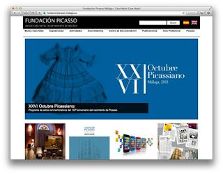 Web Fundación Picasso