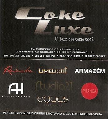 Coke Luxe - O luxo que veste você