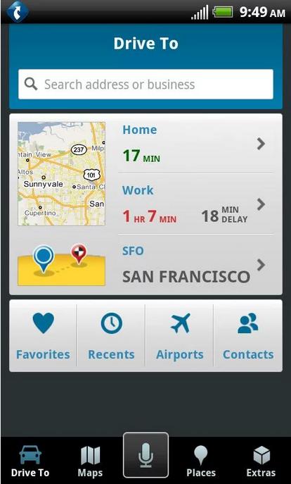 TeleNav_Android GPS app