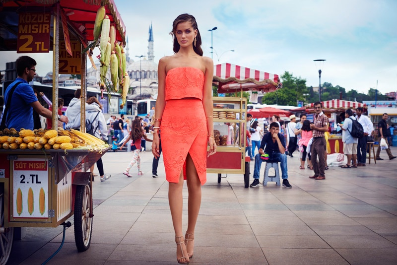 Kookai Spring/Summer 2016 Campaign featuring Josephine Skriver