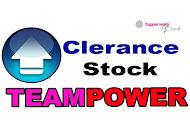 Clerance Stock