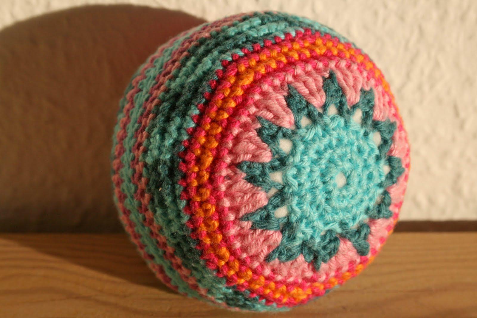hæklede bolde opskrift