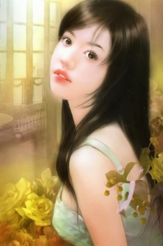 pintura chinesa linda