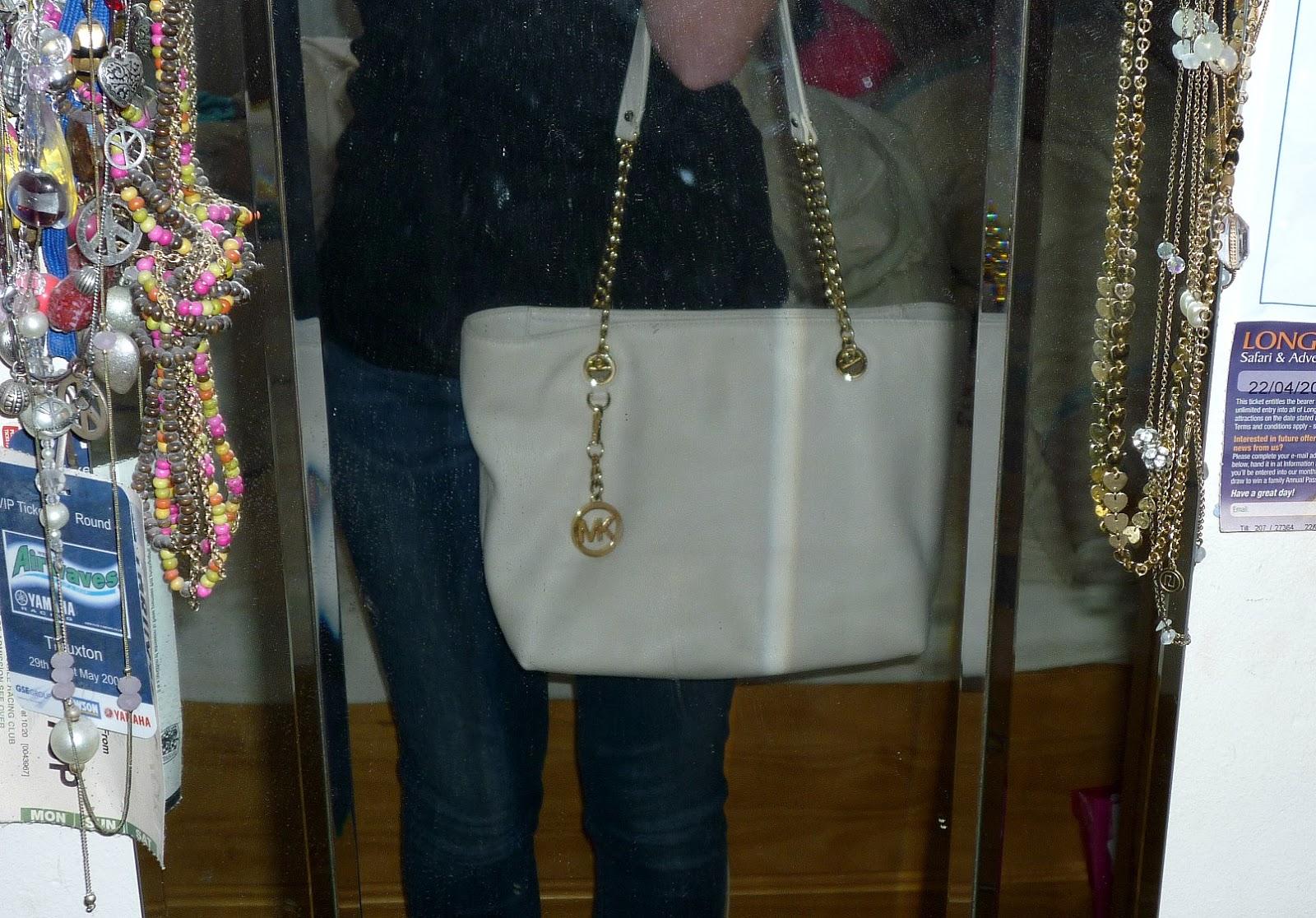 c02e9cec9127 michael kors jet set chain tote east west handbag with tassel ...