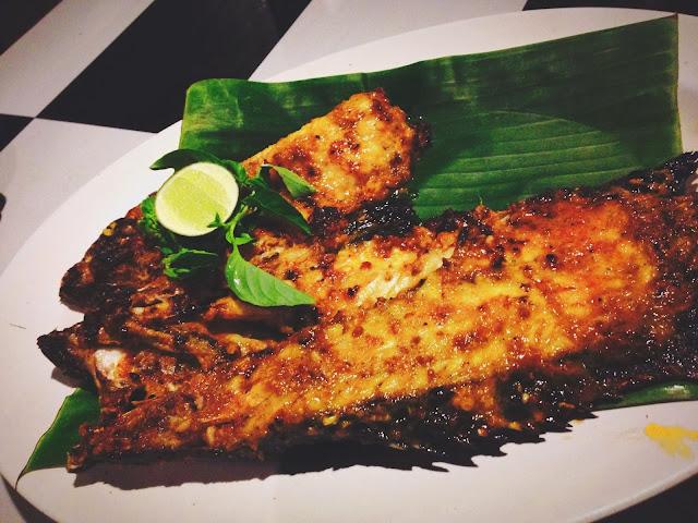 Ikan Bakar Jimbaran- grilled fish