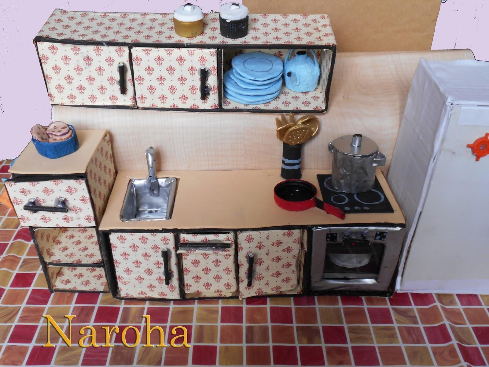 Naroha casa de mu ecas 3 for Casa con muebles transformables