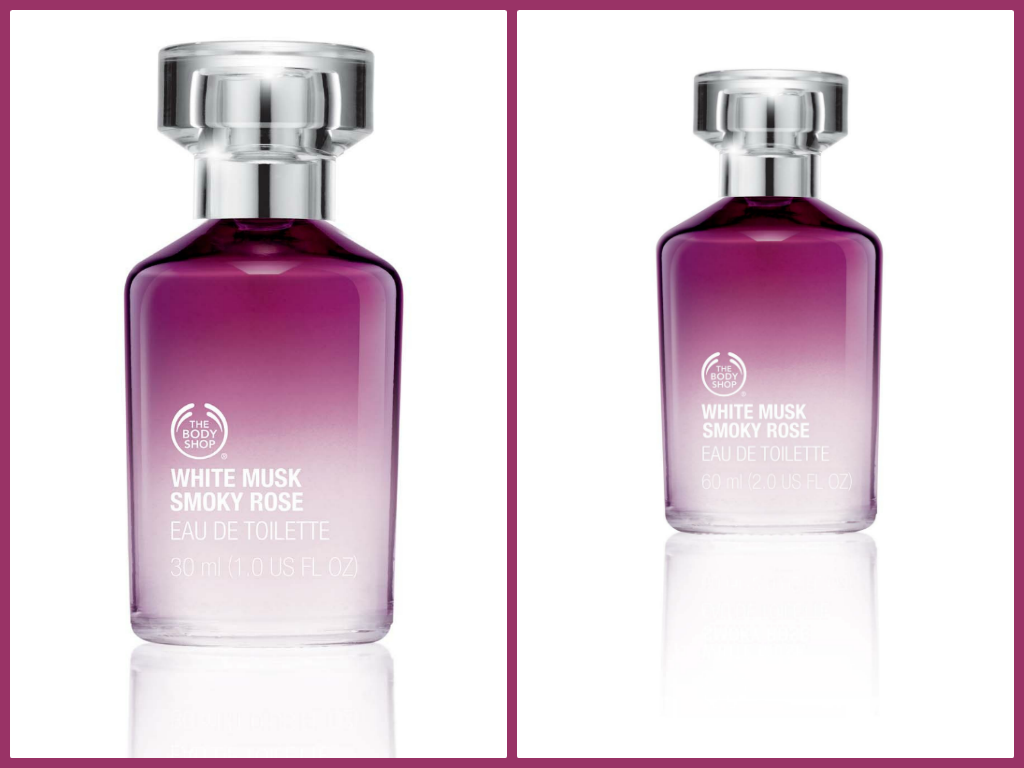 EDT WHITE MUSK SMOKY ROSE 30 ML – 1395  EDT WHITE MUSK SMOKY ROSE 60 ML – 1695