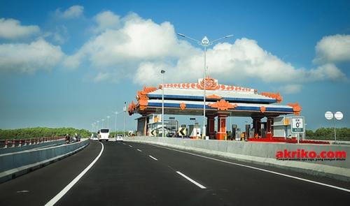 Ini Tarif Baru Tol Bali Mandara yang berlaku mulai hari Minggu (01/11/2015) pukul 00.00 WITA