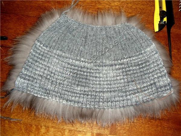 Как сшить норковую шапку из полосок своими руками