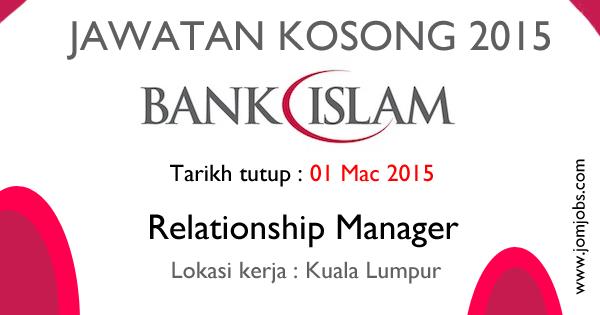 Jawatan Kosong Bank Islam Malaysia Berhad 2015 Terkini