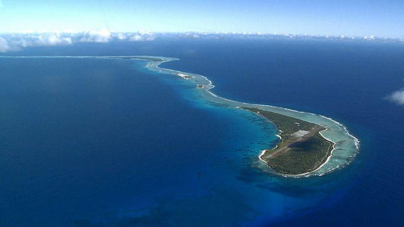 coordinates Bikini atol