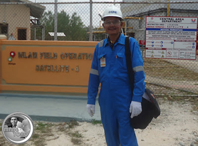 Bekerja di Proyek PT. Vico Indonesia, Muara Badak, Kaltim