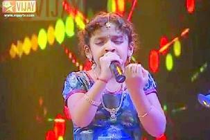 Super Singer Junior – Mannavan Vanthanadi by SSJ03 Spoorthi