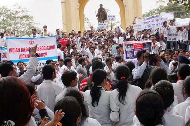 Meeting between Akhilesh and striking doctors remains inconclusive
