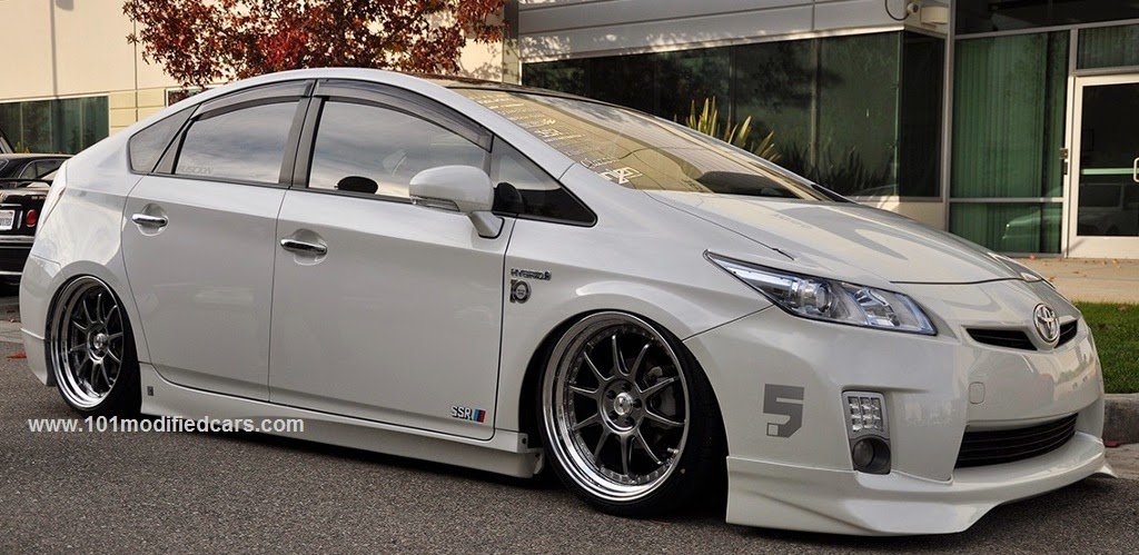 Story of car modification in worldwide toyota prius hybrid modified