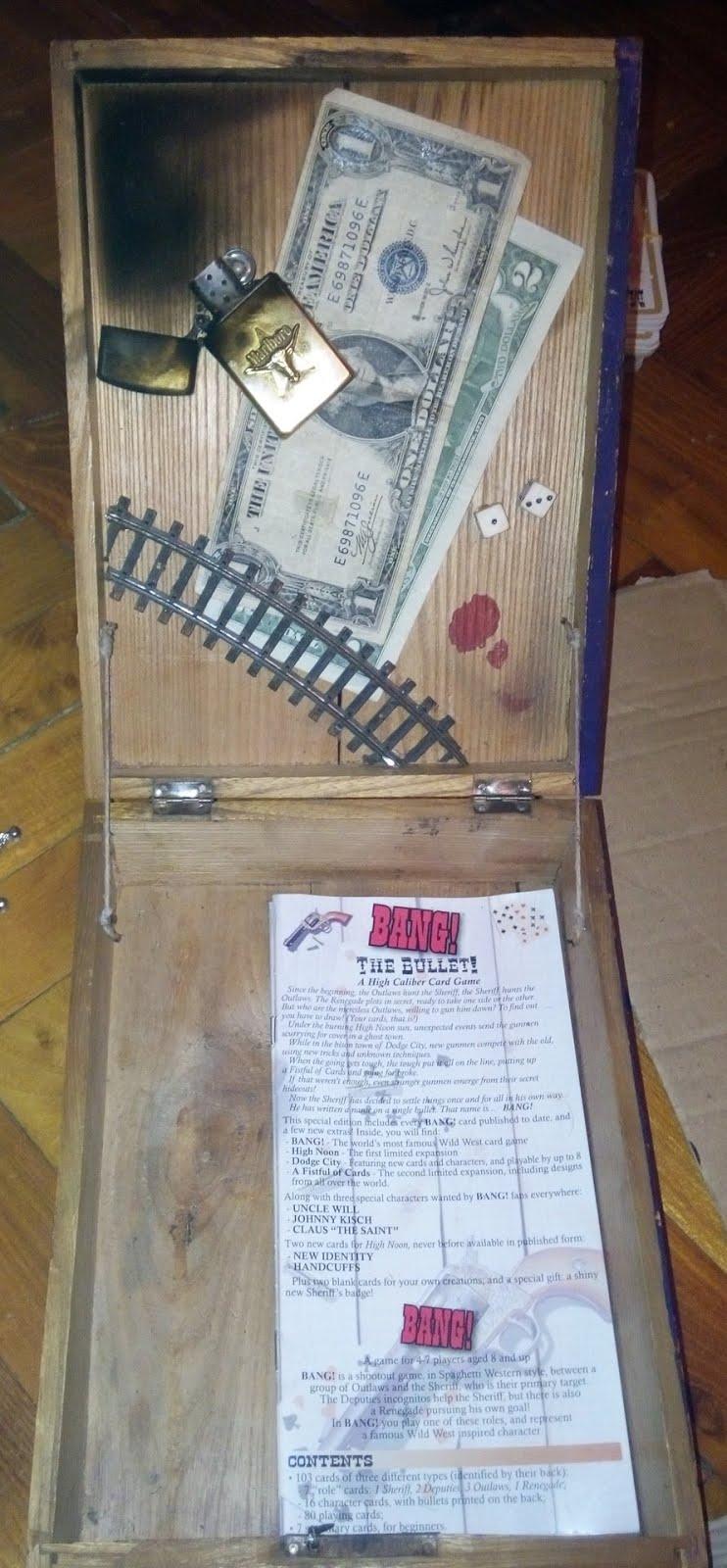 My custom BANG! box :)