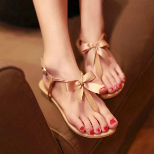Bowtie sandals
