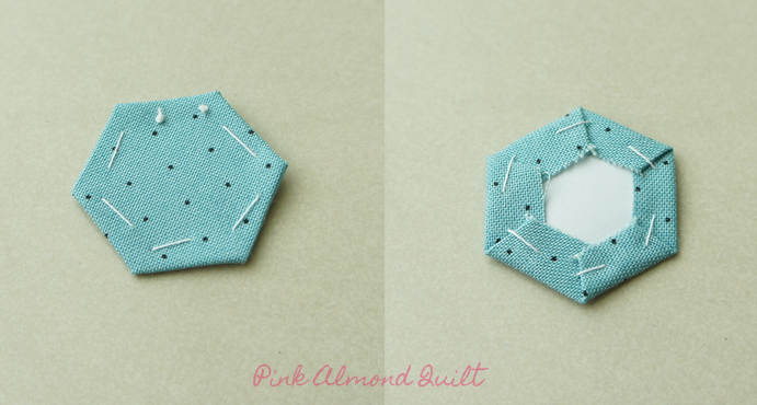 Hexagon by Pink Almond Quilt
