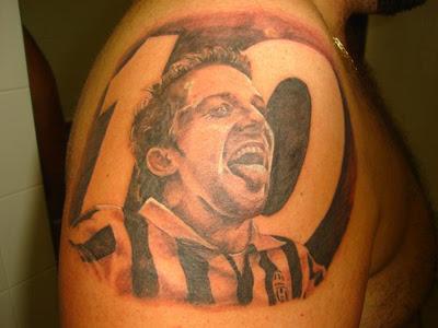 Tatuaje de Alessandro Del Piero
