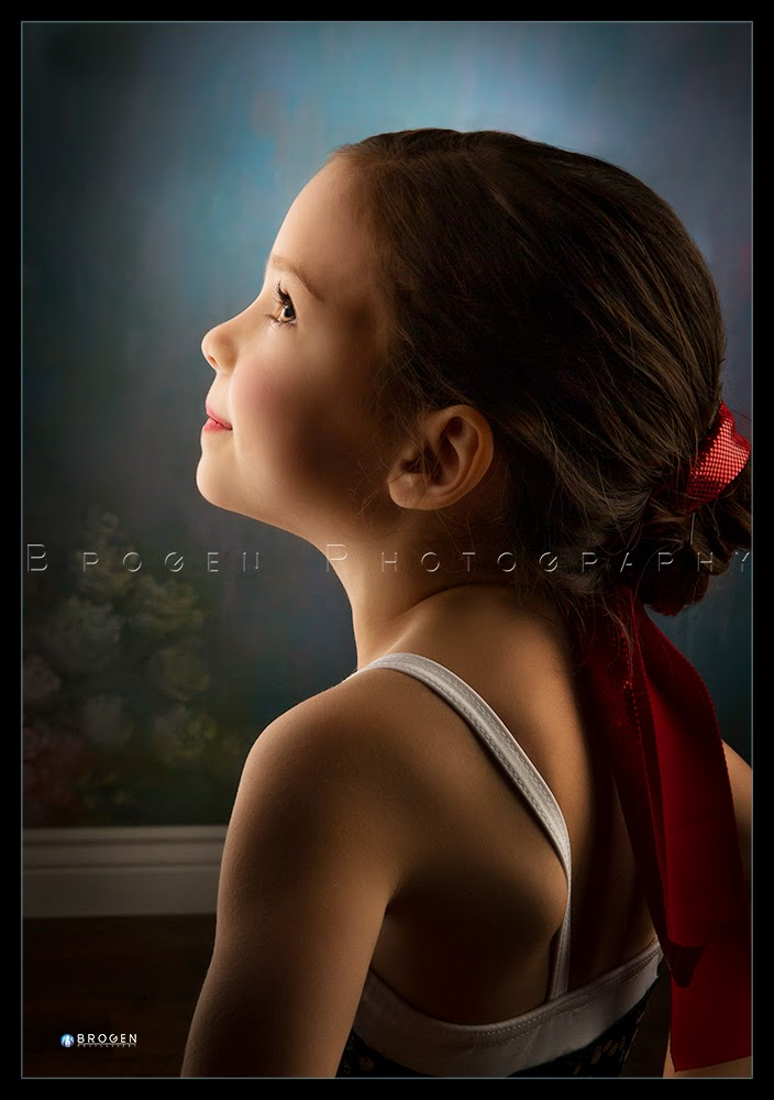 Childrens portraits, dance portraits