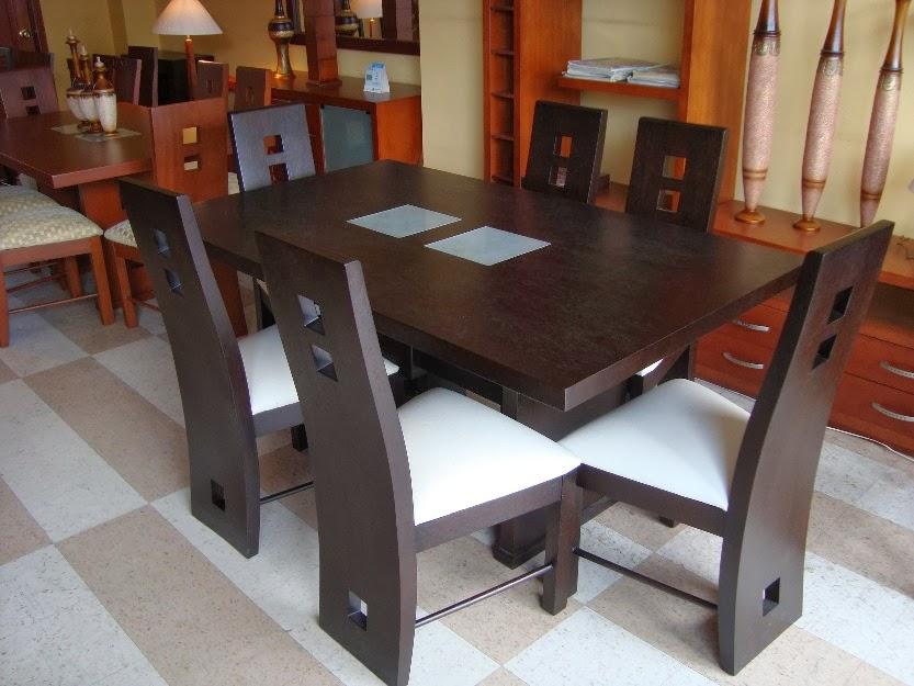 Muebles genius noviembre 2013 for Comedor moderno de madera