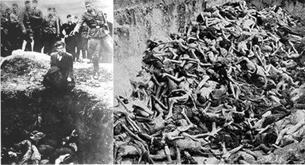 Foto-Foto dari Berbagai Peristiwa Masa Lalu Yang Paling Mengerikan, Mengejutkan, Menyedihkan dan Bikin Syok - Eksekusi Orang Yahudi Terakhir dari Vinnitsa