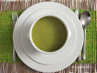 Crema di verdure con broccoli